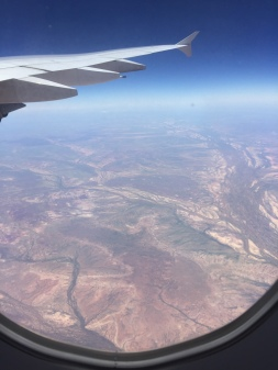 Flying over NT