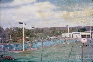 Swimming pool then