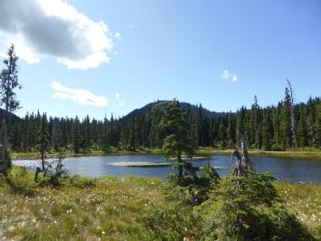 Walking to Lake Helen Makenzie
