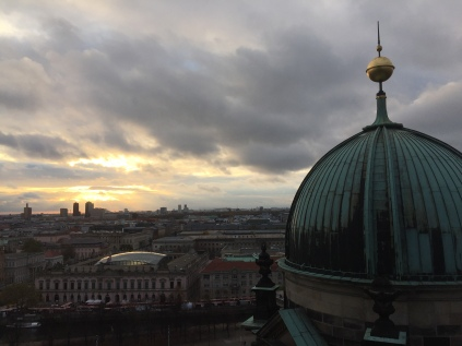 Sunset from the Berliner Dom