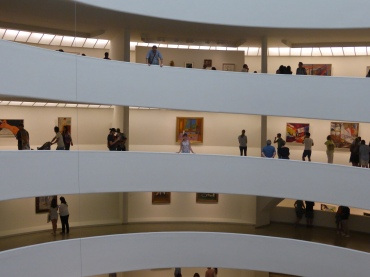 Me in the Guggenheim