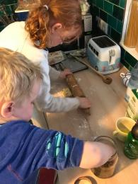 Scone Baking!