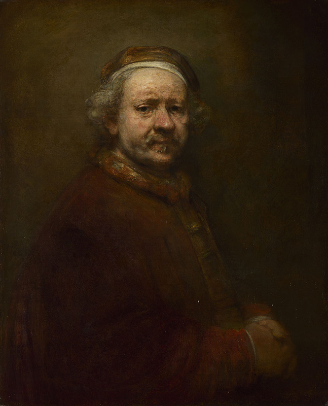 Rembrandt, Self Portrait at the Age of 63, 1669