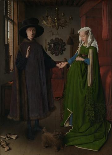 Van Eyck, Arnolfini Portrait, 1434