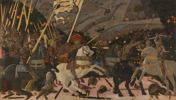 Battle of San Romano, 1438 - 40, Uccello